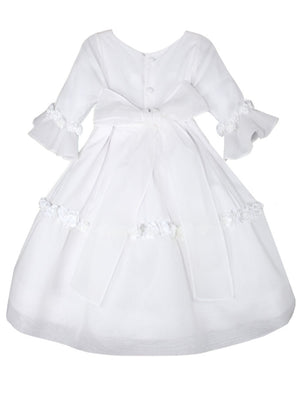 Dazzling Cotton and Organdy Girls Dress