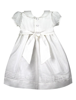 Elegant Girls Dress Mid-Calf Length with Short Sleeves