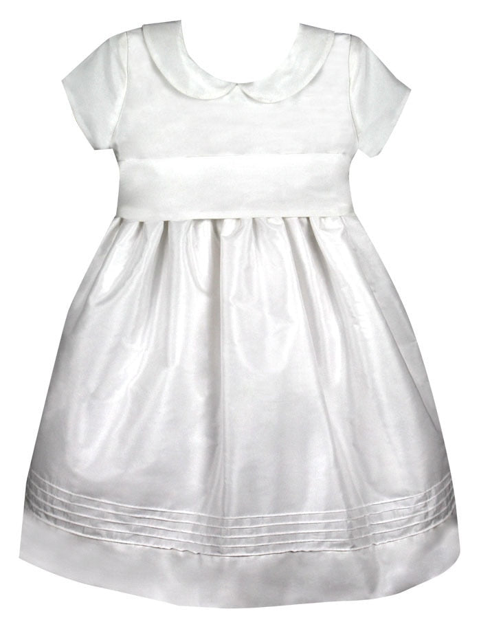 Elegant Girls Dress Mid-Calf Length with Cap Sleeves