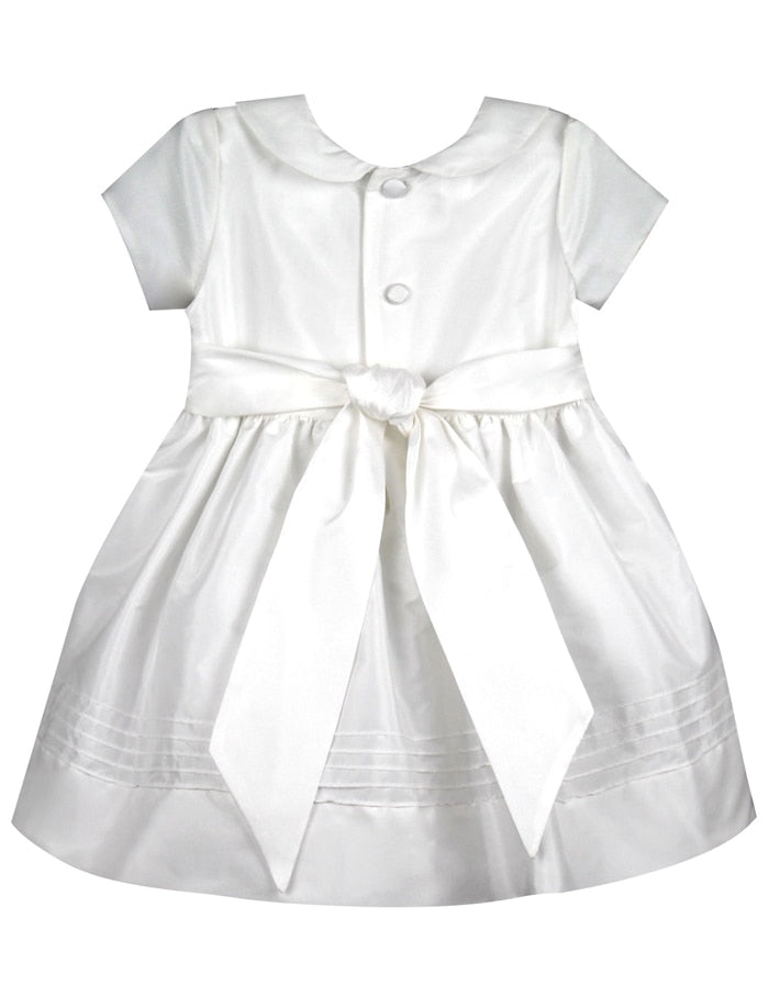 Elegant Baby Dress with Cap Sleeves