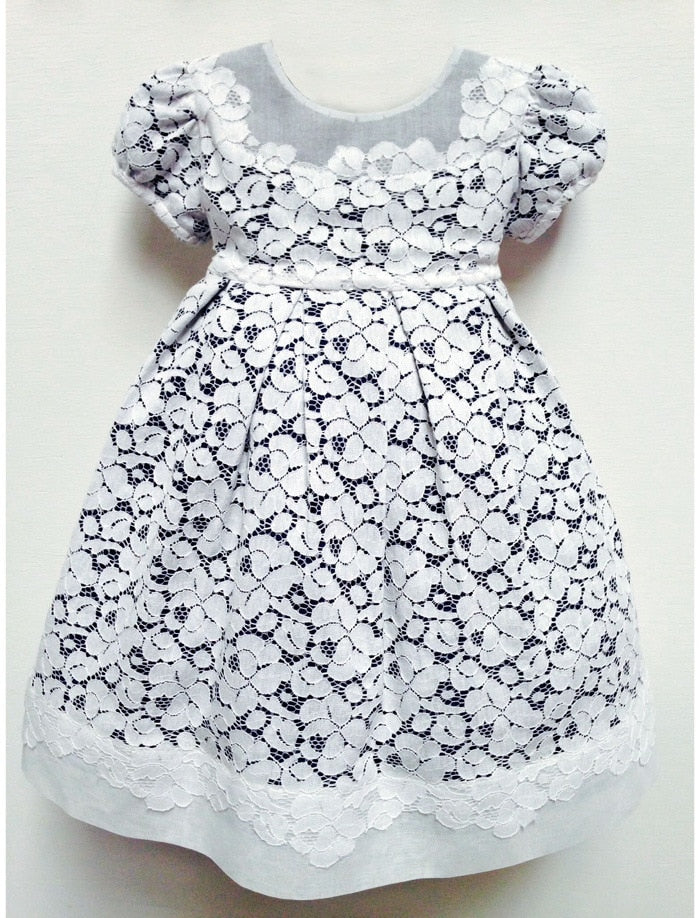 Gala Cotton Lace Baby Dress