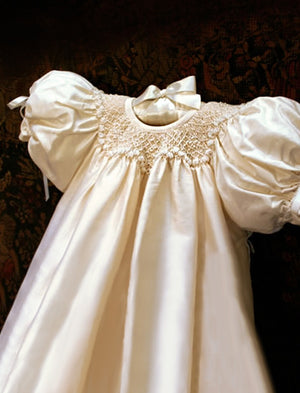 Garland Christening Gown