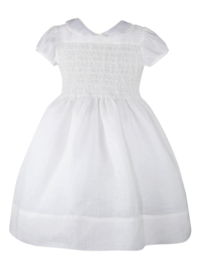 Heirloom Hand Smocked Girls Dress