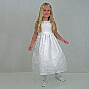 Belle Cotton Eyelet Girls Dress