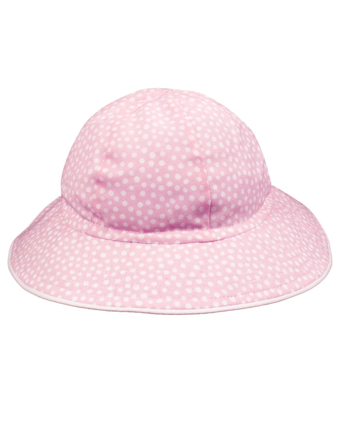 Dots Baby Cotton Sun Hat