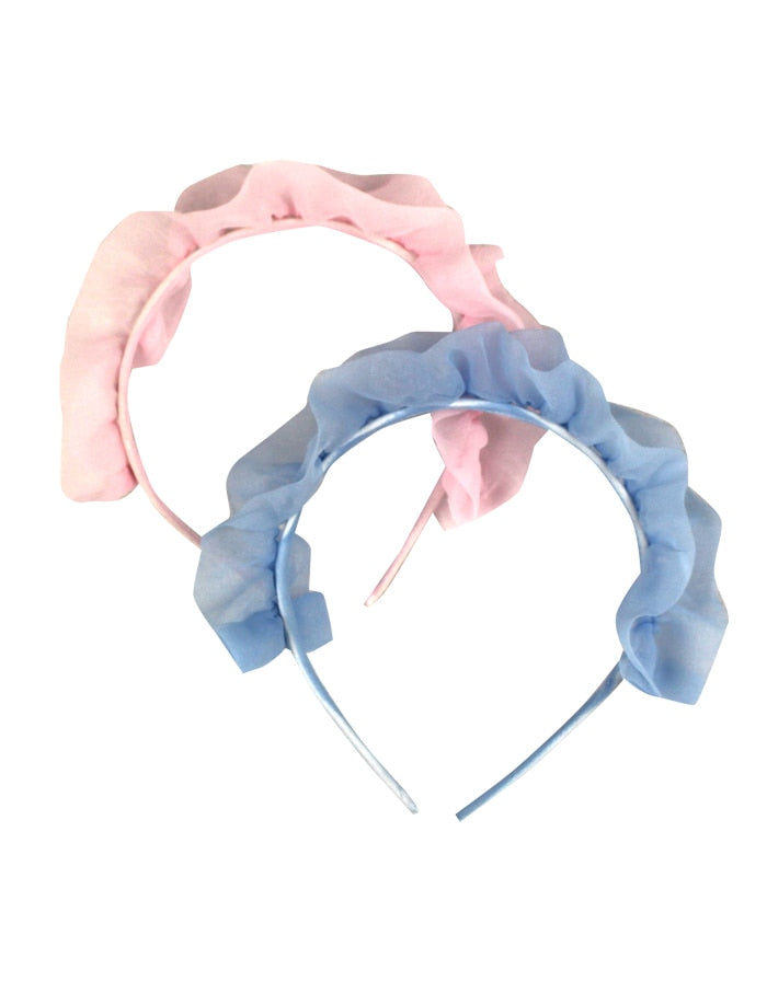 Meringue Girls Organza Ruffle Headband