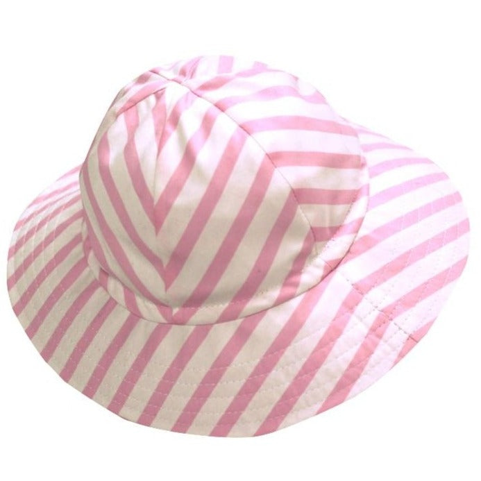 Stripes Baby Cotton Sun Hat