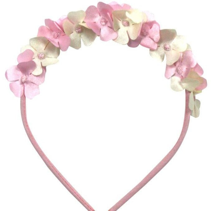 Cotton Hydrangeas Headband