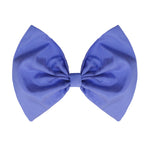 Bow Hair Clip In Lilac Taffeta