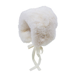 Faux Fur Bonnet