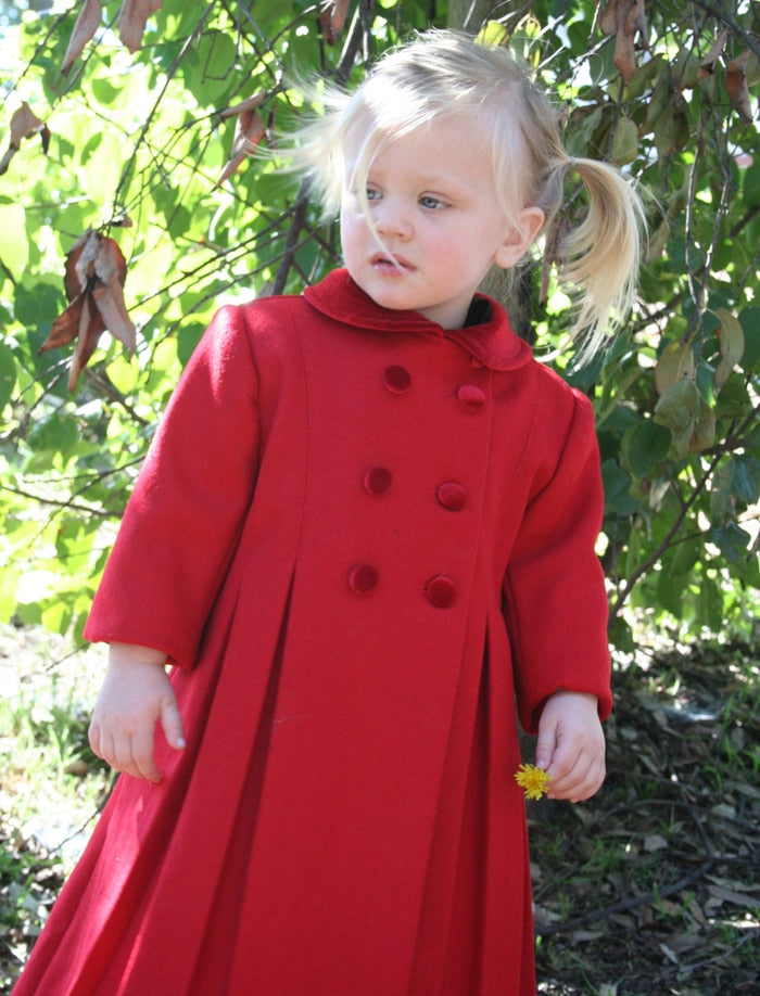 New York Girls Wool Coat