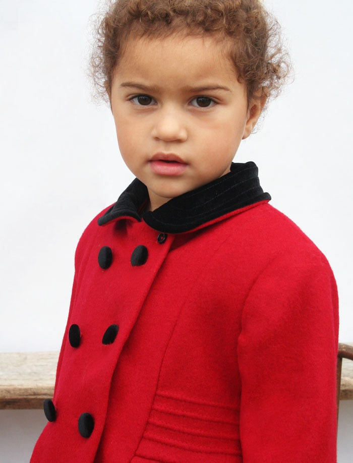 London Baby Wool Classic Coat