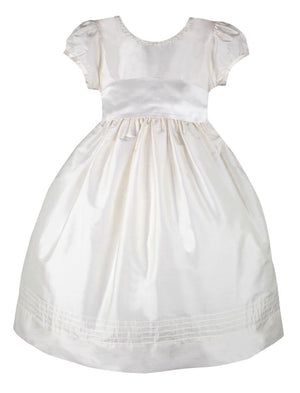 Fantasy Girls Silk Dress Short Sleeve
