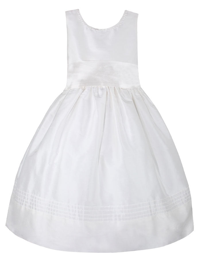 Fantasy Silk Plus Size Girls Dress Sleeveless