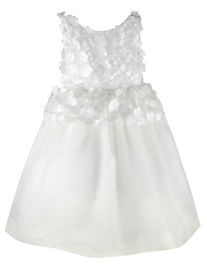 Fairy Floral Applique Girls Dress
