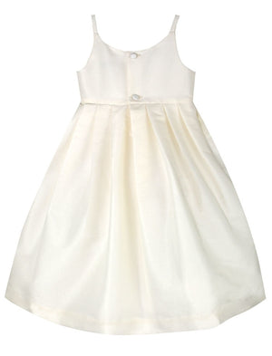 Flutter Two in One Girls Dress with Short Sleeves
