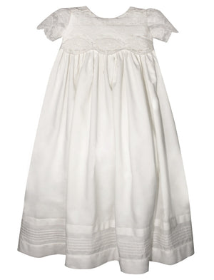 Treasure Christening Gown with Bonnet