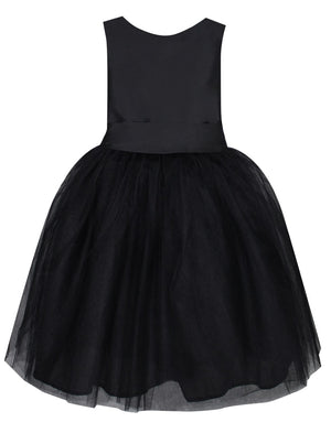 Windy Baby Dress with Tulle Skirt