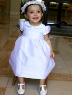 Elegant Baby Dress with Short Sleeves