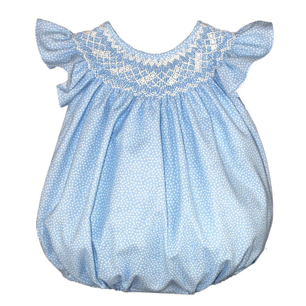 Cotton Confetti Dot Baby Bubble Bishop