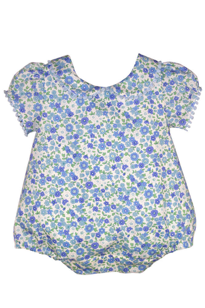 Short Sleeve Garden Floral Bubble
