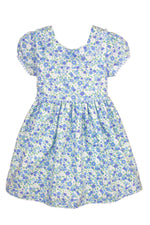 Short Sleeve Garden Floral Baby Dress