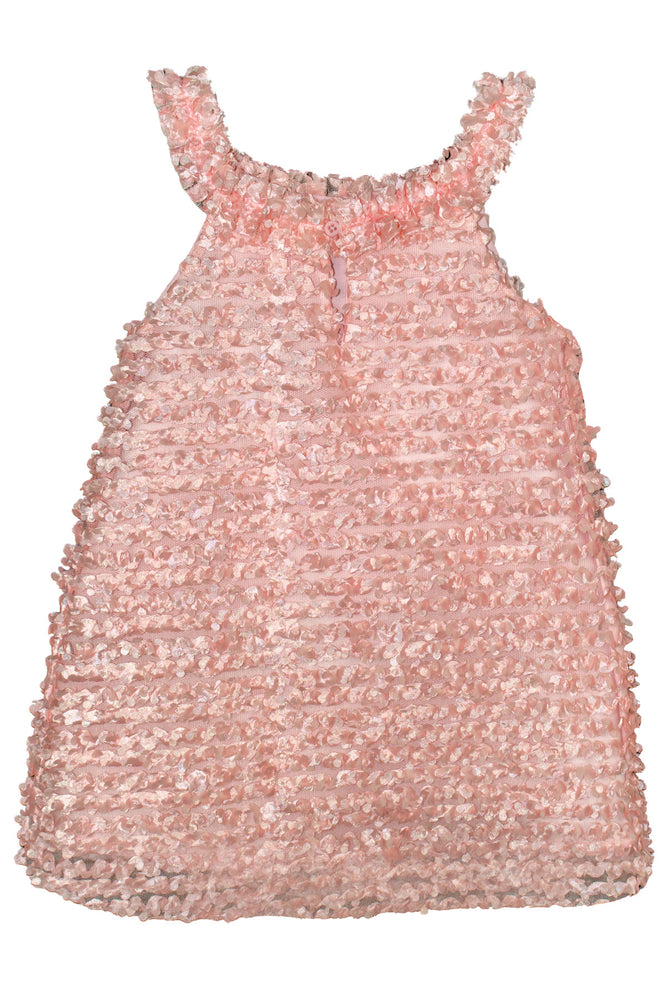 Flutter Textured Girls Sundress