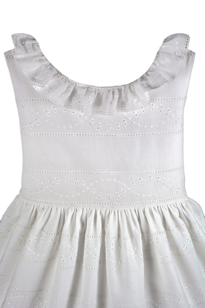Belle Cotton Eyelet Baby Dress