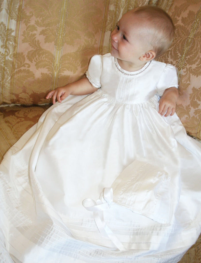 Cambridge Christening Gown & Bonnet