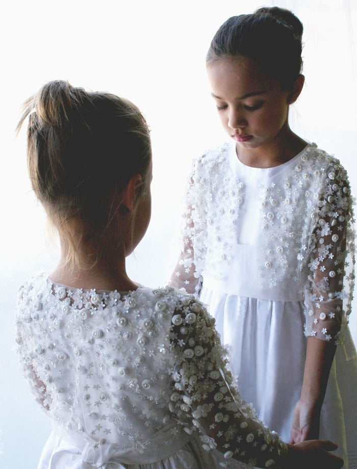Limited Edition Sparkling 3/4 Sleeve Girls Bolero
