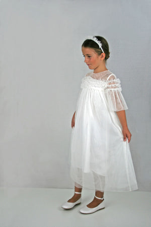 Mystic Girls Dress Ankle Length