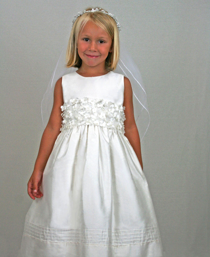 Timeless Dress with Blossom Big Bow Sash