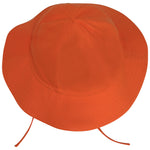 Orange Cotton Sun Hat