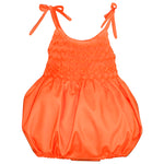 Hand Smocked & Hand Emb Cotton Sunbubble