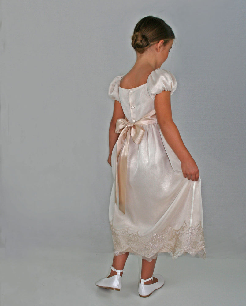 Elizabeth Girls Dress Ankle Length