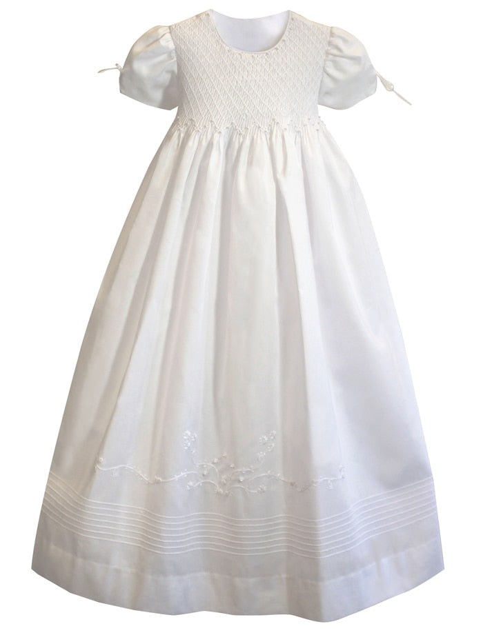 Pearls Christening Gown
