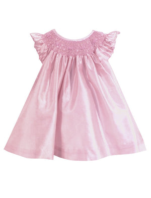 Toddler Girl Hand Smocked Bishop