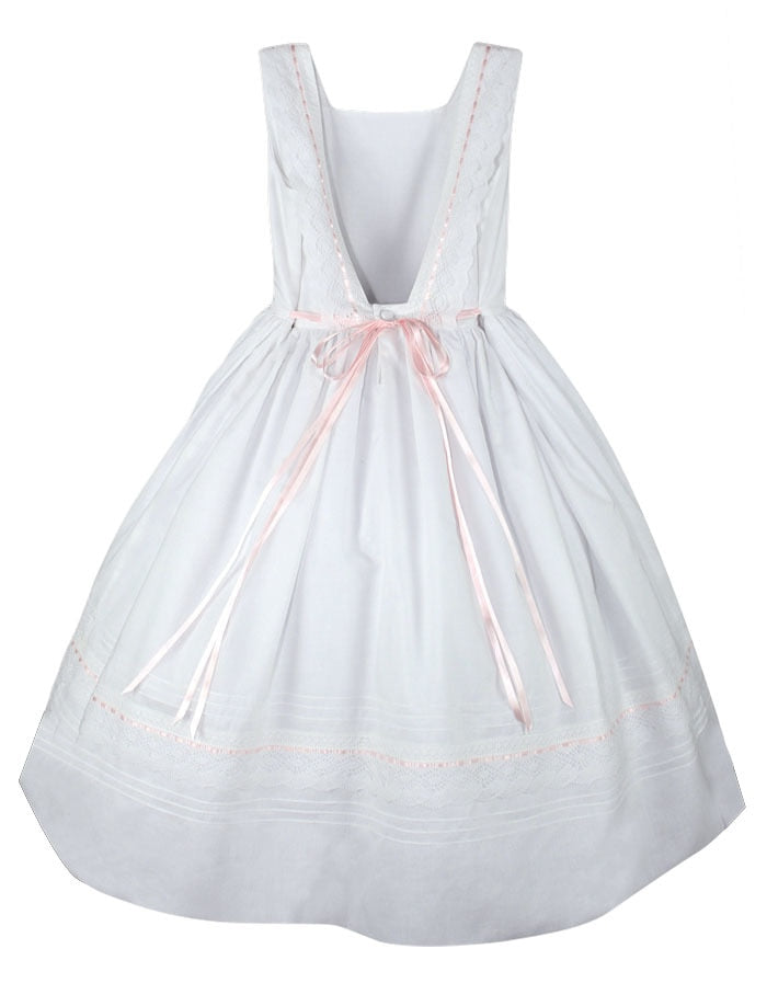 Ribbons Cotton Girls Dress
