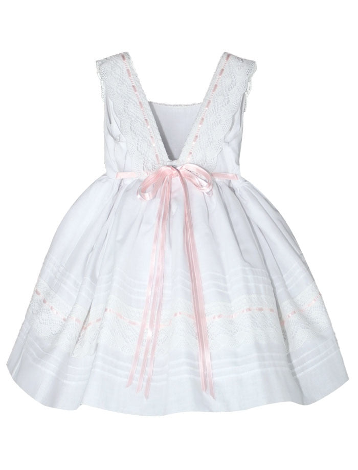 Ribbons Cotton Baby Dress