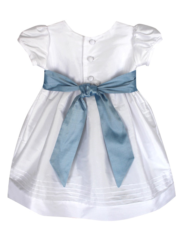 Timeless Baby Dress with Short Sleeves