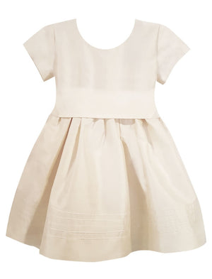 Timeless Baby Dress with Cap Sleeves