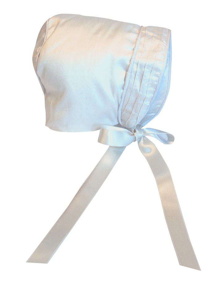 Tucks Heirloom Boys Christening Romper