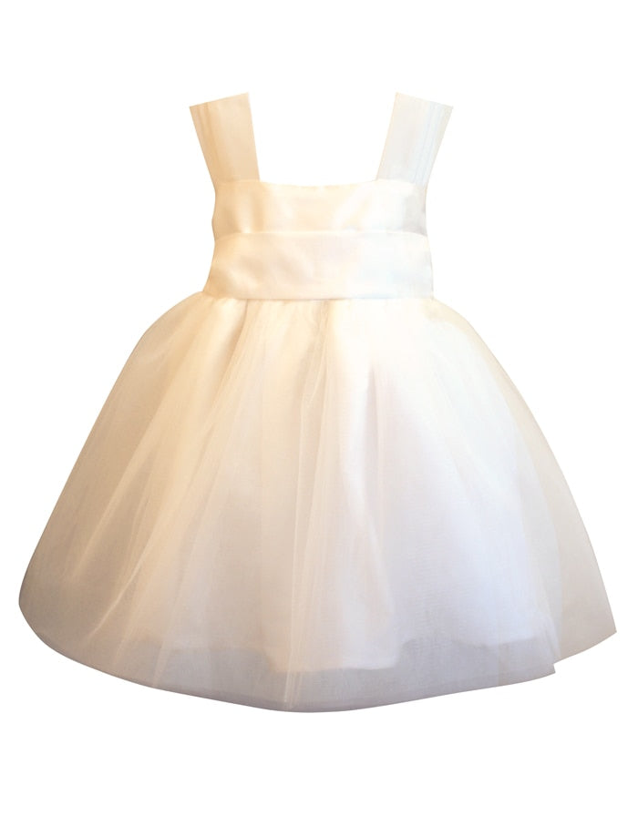 Venice Baby Dress with Tulle Skirt