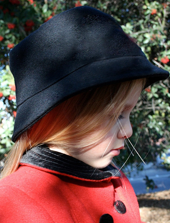 Girls Wool Winter Bucket Hat