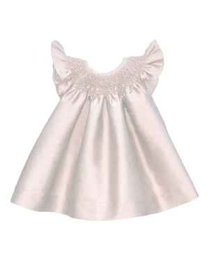 Hand Smocked Holiday Baby Bishop