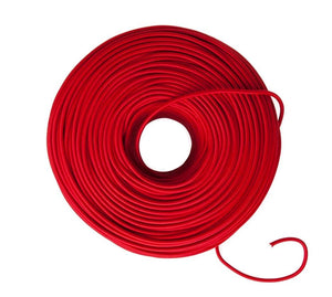 Cable Textil Rojo
