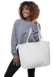 Custom Large Size Tote Bag | Reusable