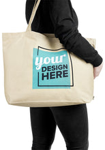 Load image into Gallery viewer, Custom Large Size Tote Bag | Reusable