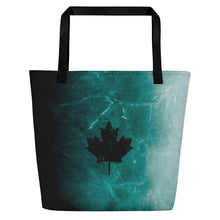 Load image into Gallery viewer, Black Ice Beach Bag