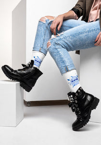 Custom Socks Print |  Sublimation Blanks